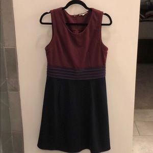 41 Hawthorn Colorblock A-Line Dress